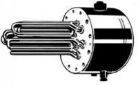 FCR 28/180* Фланец с нагревательным ТЭНом